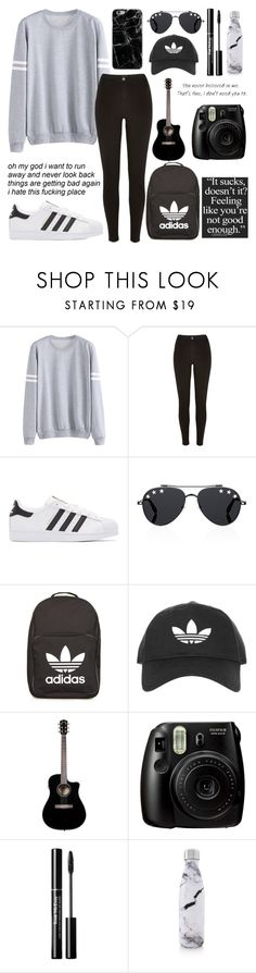 """""""💕💎💯//rtd"""" by batman-lover-13 ❤ liked on Polyvore featuring River Island, adidas Originals, Givenchy, adidas, Topshop, Fujifilm and S'well"""