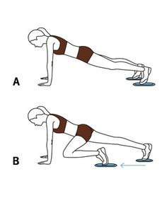 15 Minutes and You're Done - 6 Quick #Valslide Exercises: Valslide mountain climber