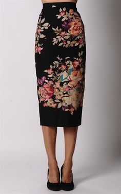 A very perfect pencil skirt.