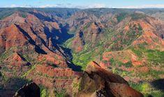 Kauai Hawaii Waimea Canyon Kauai Hawaii, Hawaii Travel, Waimea Canyon, Grand Canyon, Travel Tips, Nature, Naturaleza, Travel Advice, Grand Canyon National Park