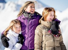 Dutch Royal Family holds 2018 winter photo session in Lech