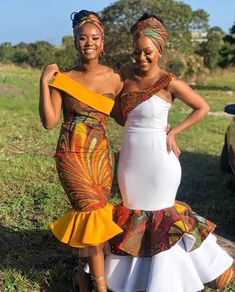 African Bridesmaid Dresses, Short African Dresses, African Wedding Attire, African Fashion Ankara, Latest African Fashion Dresses, African Print Fashion, South African Traditional Dresses, Traditional Wedding Attire, Tony Ward