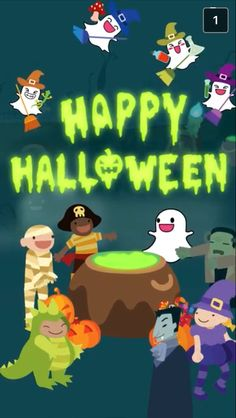 Happy Halloween from Snapchat