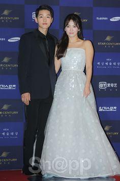 「さくさくカップル」ソン・ジュンギ - ソン・ヘギョ、「幻想のカップルでのです!」 (百想芸術大賞)