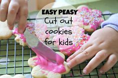 easy cut out cookies for kids with THERMOMIX