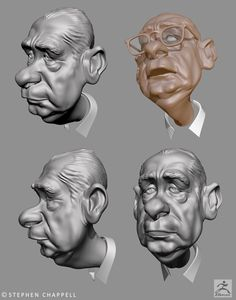 zbrush character designs - Google Search