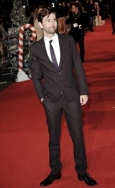 David Tennant Photo Of The Day - 12th December 2014:  Attending the première of 'Nativity 2: Danger In The Manger' - November 2012