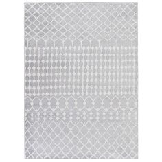 null jasmin collection moroccan trellis grayivory 7 ft 10 in x 9 ft 10 in area rug
