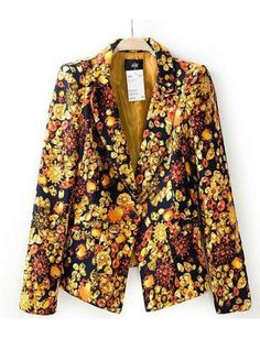 Up Town Girl Floral Print Suit