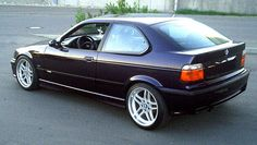 I'm probably alone in my affection for this cute little BMW hatchback. Bmw E36 318i, Bmw 316i, Bmw Cars, E30, Bmw E36 Compact, 1999 Bmw M3, E36 Coupe, Bavarian Motor Works, Toyota 86