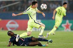 Messi vs psg
