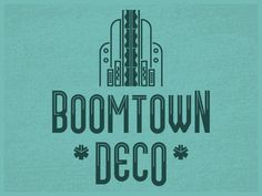 Boomtown Deco (Free Font) by Chris Skillern - Dribbble