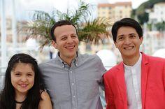 2do día de Cannes, Heli, Amat Escalante y actores