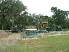 DV8 Airsoft field in Lithia FL. Awesome. They have a great field, a tank. And several other pieces of heavy equipment.