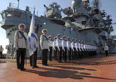 Russian Pyotr Veliky missile cruiser makes port call in Tartus, Syria. Sputnik Photo
