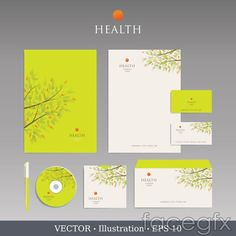 Branch pattern VI templates vector