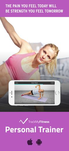Stop spending your valuable time searching for workouts… Become stronger than you were yesterday using Personal Trainer's progress and calories burned tracking. Keep it fresh with new body weight workout videos of all lengths updated each week! #trackmyfitness
