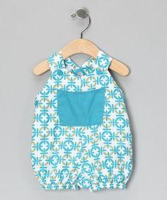 Blue Chainlink Shortalls - Infant & Toddler