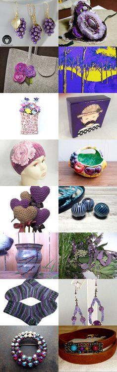 Purple Gifts - Appreciation Treasury by Gabbie on Etsy
