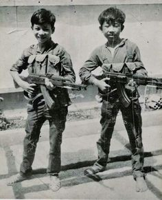 Vietnam...the little ones would kill you too...