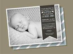 Resultado de imagen para foto tarjeta de bautismo