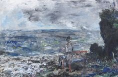 """""""The Novelist by Jack B Yeats – Irish artist and Olympic medalist. Yeats was his brother)"""" Irish Painters, Jack B, Irish Landscape, Irish Art, Pinterest Photos, Illustration Artists, Contemporary Paintings, Landscape Paintings, Renaissance"""