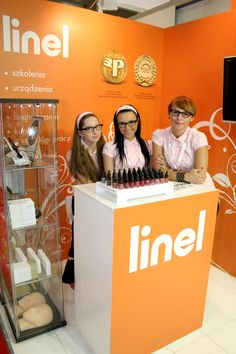 LINEL team @ Beauty Forum