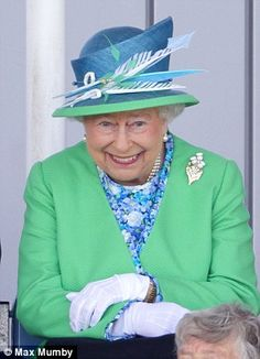 Her Royal Highness enjoying the game ~~ 2014 Commonwealth Games in Glasgow, Scotland