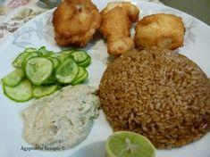 Ägyptische Rezepte Braucner Reis Zwiebeln Fisch