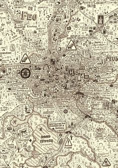 Anthropocene: Exhibition Of Stephen Walter's Maps And Drawings