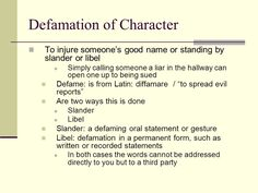 Letter Of Recommendation Template For Defamation Character on personal injury letter template, slander letter template, good moral character letter template, harassment letter template, defamation on the internet,