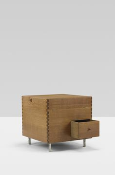 Sold By Wright Auction. Hans J. Wegner. Cube Bar. Andreas Tuck Denmark, c. 1960