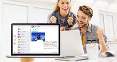 Envie SMS e converse através do computador com o Vodafone Message+