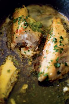 Gurnard Fillet cooked in Butter with Lemon & Parsley - recipe