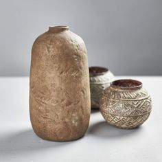 Stoneware vase with natural sandstone appearance. Handmade item so may vary. Faux flowers or decoration only - the vase may get damp over time when containing water. Size: 11.5cm x 22cm Faux Flowers, Stoneware, Handmade Items, Vase, Create, Decoration, Natural, Ideas, Products
