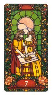 The Art Nouveau Tarot Deck