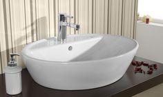 Soft, lavabo que permite aprovechar al máximo el espacio e integrarse en cualquier estilo. Sin rebosadero. Sin repisa.