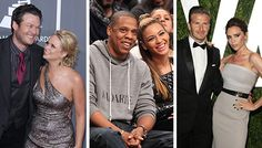 Celebrity First Dance Songs. A lot of these could be good, but disturbing how many of these marriages already failed..