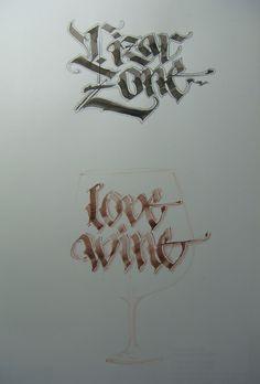 Calligraphy Types V