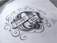 Rough letter sketch