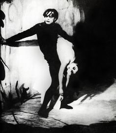 The Cabinet of Dr. Caligari.  Love this movie.