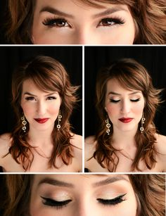 How To: Classic Christmas Makeup  www.NicoleMarieMakeup.blogspot.com www.NicoleMarieMakeup.com