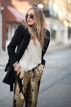 ★ //» Sequin Pants