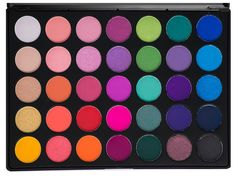 Glam Palette By Morphe - 35B These eye shadows are highly pigmented and the color pay off is well worth this investment. This  Read more http://cosmeticcastle.net/glam-palette-by-morphe-35b/  Visit http://cosmeticcastle.net to read cosmetic reviews