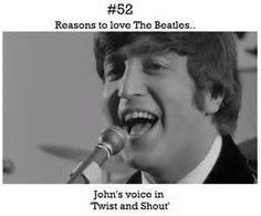 Reasons to love The Beatles., Submitted