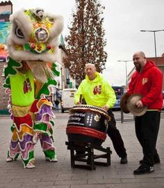 Year of the Dog 2018 Lion Dance Team, photo posted by Sifu Derek Frearson.