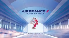 Air France: France Is In The Air (2015) #airfrance #franceisintheair #advertising #commercial #fashion #art #france