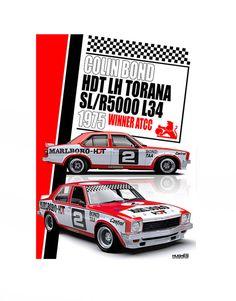 Mount Panorama, Holden Monaro, Holden Australia, Aussie Muscle Cars, V8 Supercars, Australian Cars, Old Race Cars, Motor Sport, Automotive Art