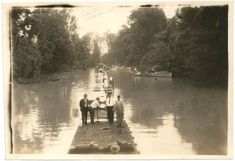 6. The Great Mississippi Flood Rare Photos, Old Photos, Vintage Photos, Savannah Georgia, Savannah Chat, Southern Gothic, Southern Style, Mississippi Delta, Somewhere In Time