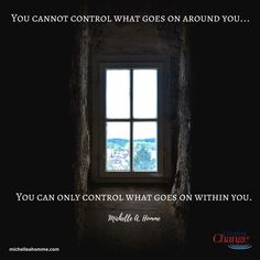 There are only two things we can control -- OUR attitude and OUR effort. #ownit #quotes Life Is Tough, Life Is Good, Simple Words, All You Can, Tough Times, What Goes On, Listening To You, Inner Peace, Live For Yourself